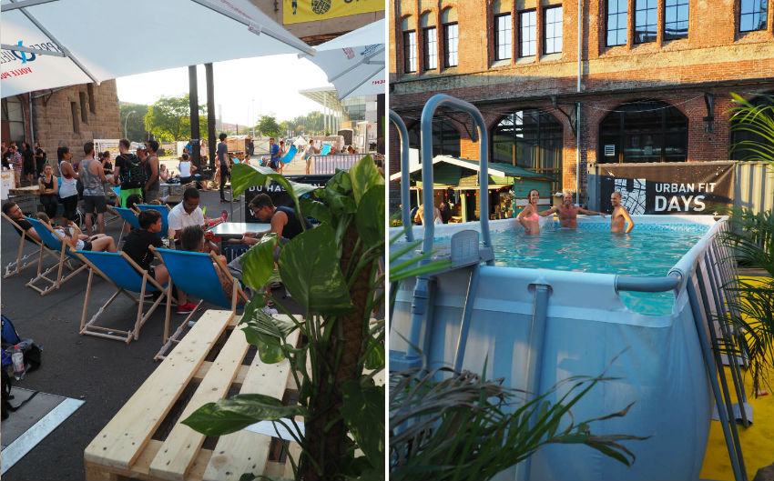 Urban Fit Days 2016 - Outdoor Area Pool