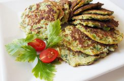 Brokkoli Puffer low carb & paleo