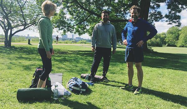 Outdoor Bootcamp an der Alster
