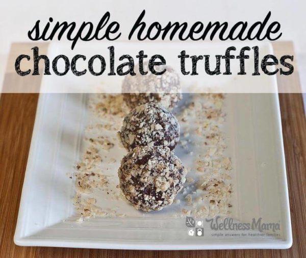 Homemade Chocolate Truffles (recipe)