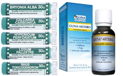 Arthritis Homeopathy Kit Homeopathy Kit [Arthritis]