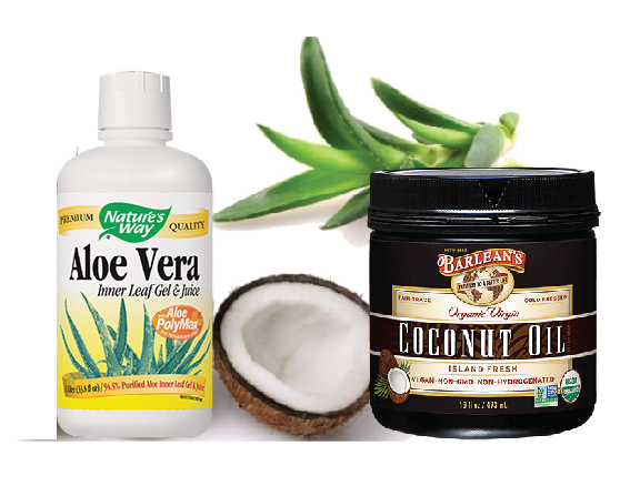 aloe and coconut Aloe Vera Coconut Combo
