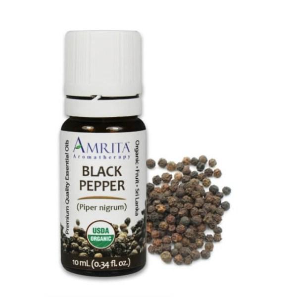 Amrita Black Pepper Essential Oil BLACK PEPPER CO2 10 ML