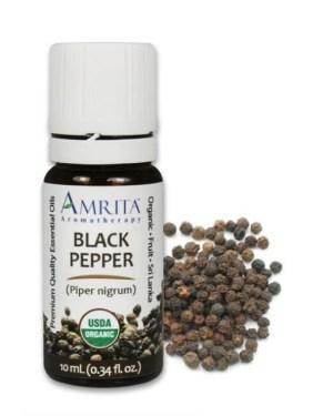 Amrita Black Pepper Essential Oil CARDAMOM ESSENTIAL OIL 10 ML