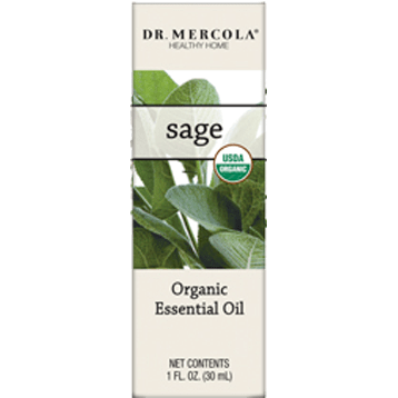 organic sage SAGE ESSENTIAL OIL ORGANIC 1 OZ