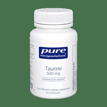 taurine 500 Blood Pressure
