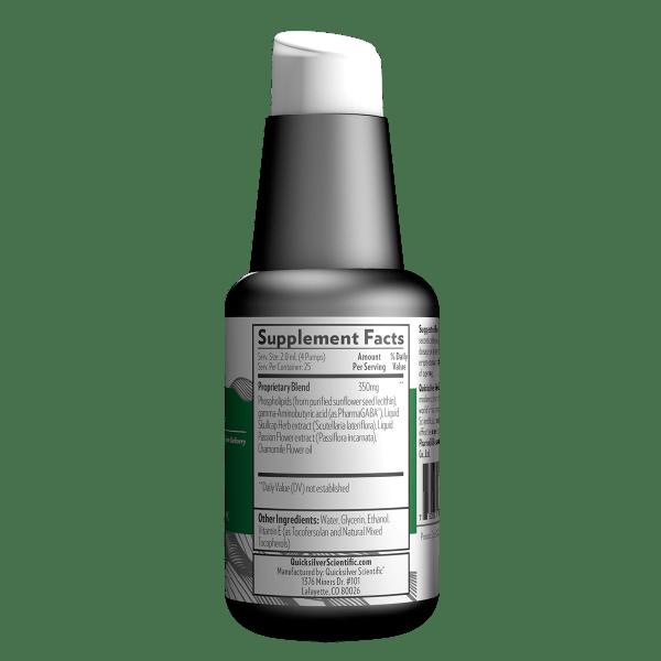 LipoCalm 50ml Supplement Facts LipoCalm1.7 fl oz