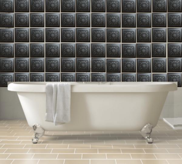 orgonite tile bathroom Beautiful Protective Shungite Orgonite Tiles | Moroccan Design