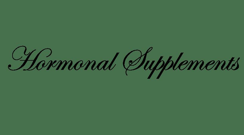 hormonal supplements Bezwecken Hormonal Supplements