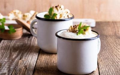 Move over almond milk – cauliflower latte is now a thing
