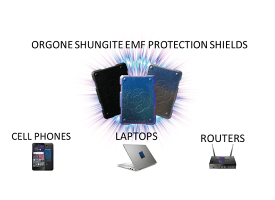 Shungite Orgonite phone shields for protection from radiation (video)