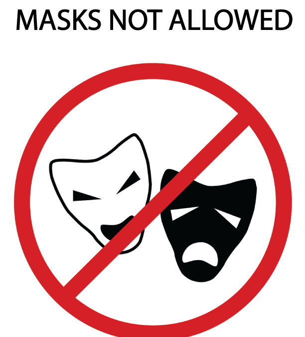 5+ Reasons to Take It Off! Masks are depriving you of oxygen