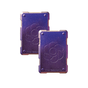 2 purple shields Orgonite Phone Shields