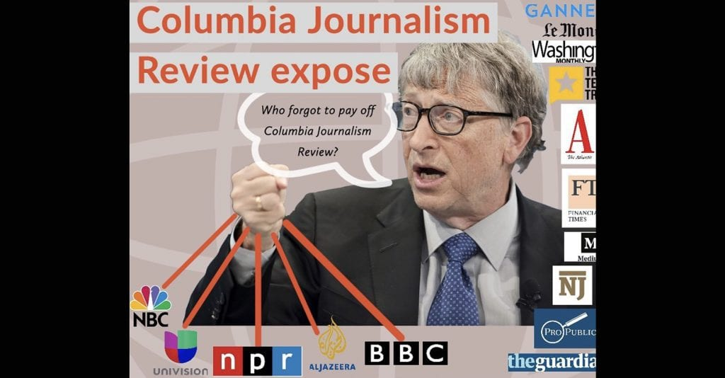 Press in His Pocket: Bill Gates Buys Media to Control the Messaging