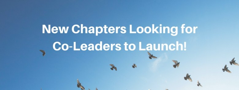 New Chapters Looking for Co-Leaders