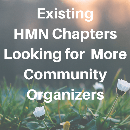 Existing Chapters Looking for Community Organizers