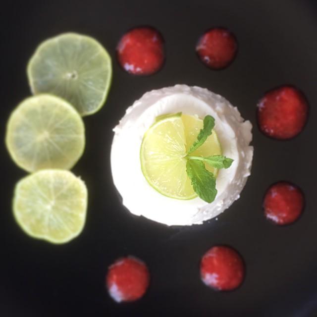Limetten-Joghurt-Dessert Low Carb
