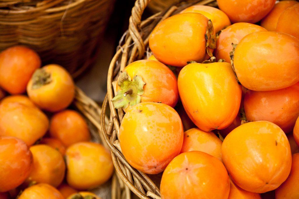 Persimon Früchte