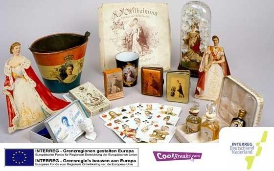 exposición de centenares de souvenirs