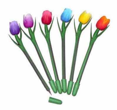 Souvenir tulppennen  potloden  Nergens goedkoper