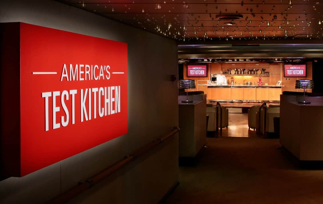Three Americas Test Kitchen Feature Cruises Showcase Cast Members Editors and Authors