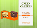 Green Careers and Holland Codes Posters