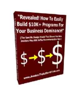 Build $10K + Programs