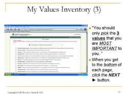 value inventory
