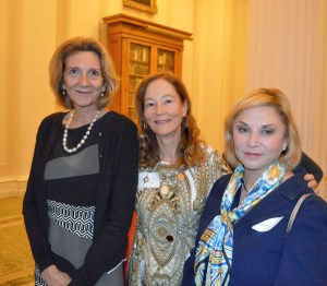 Anna van Oosterom, Honorary Diplomatic Member of the Holland Dames; Dr. Suzanne Roff-Wexler; Susan Golz.