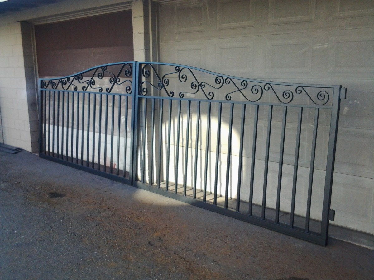 Custom Iron Gate