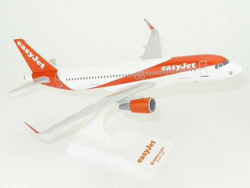 Easyjet Airbus A320 1150 Scale Desk Model Lupa