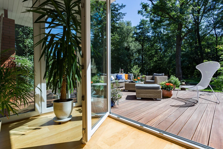 outdoor and indoor spaces