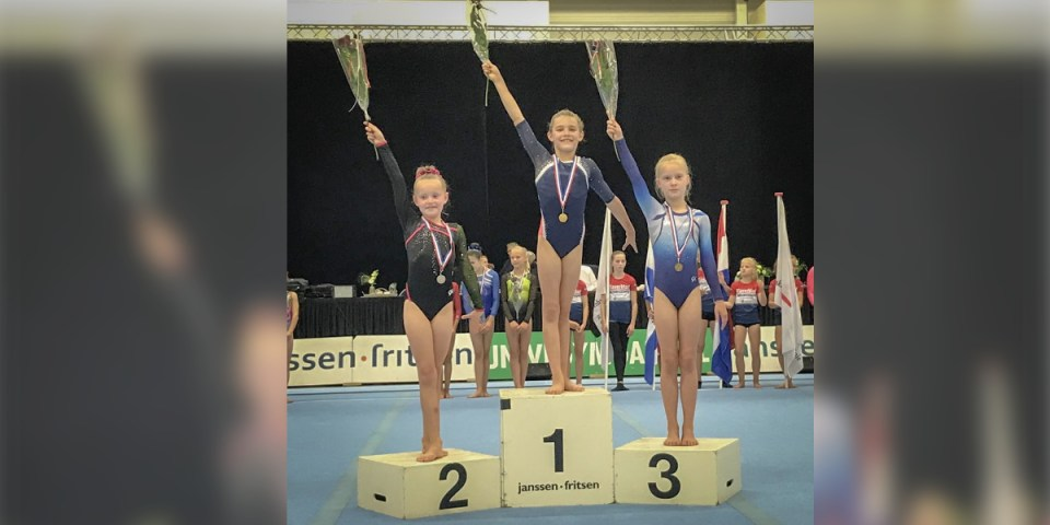 Jelisha Dijkhuizen nederlands kampioen (Foto aangeleverd)