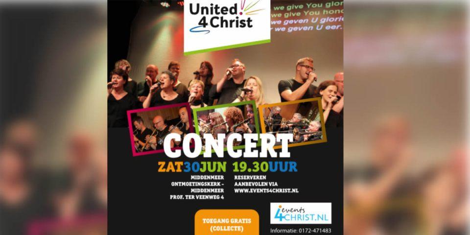 United4Christ - tourt met vernieuwd programma