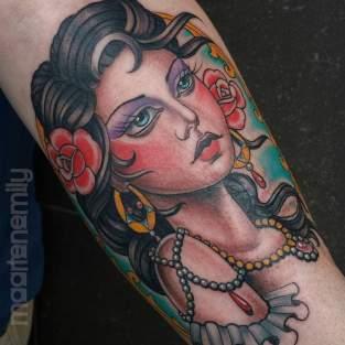 kleuren tatoeage