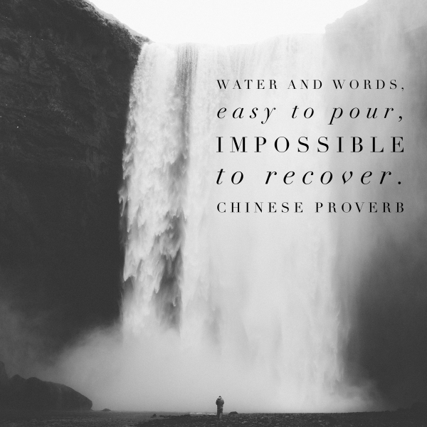 Water and Words