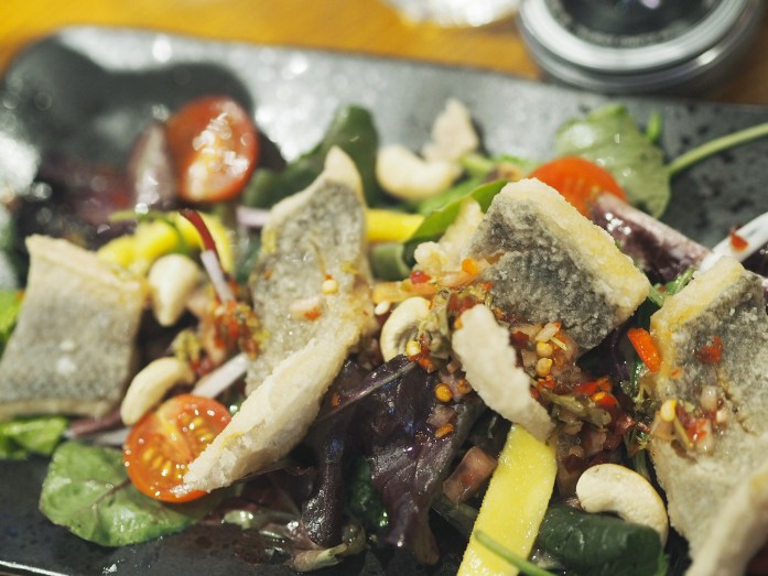 Sea Bass and Mango Salad | Silk Rd | Hollie in Wanderlust | Food Blogger