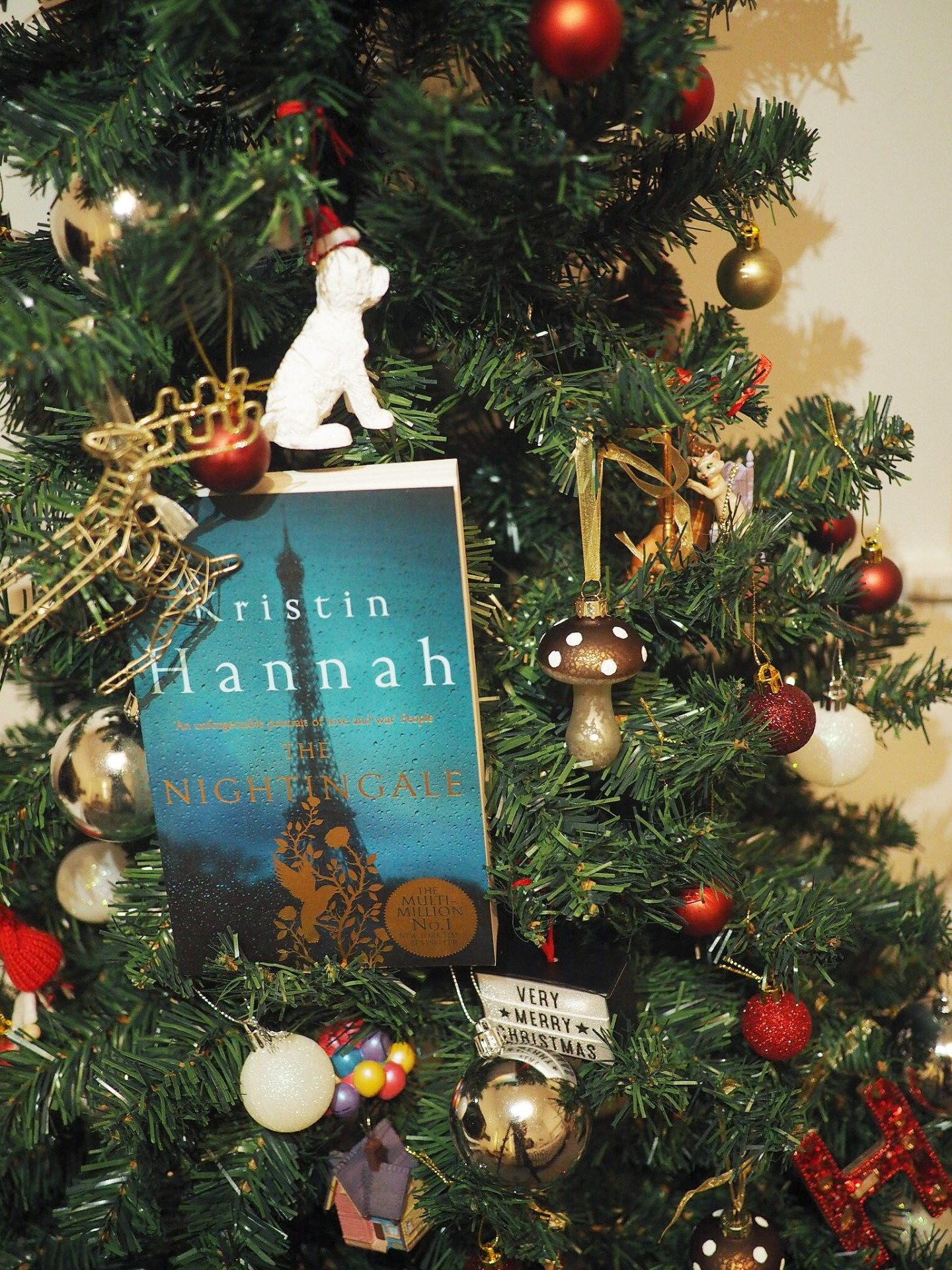 Book Advent Calendar Day 2: The Nightingale by Kristin Hannah