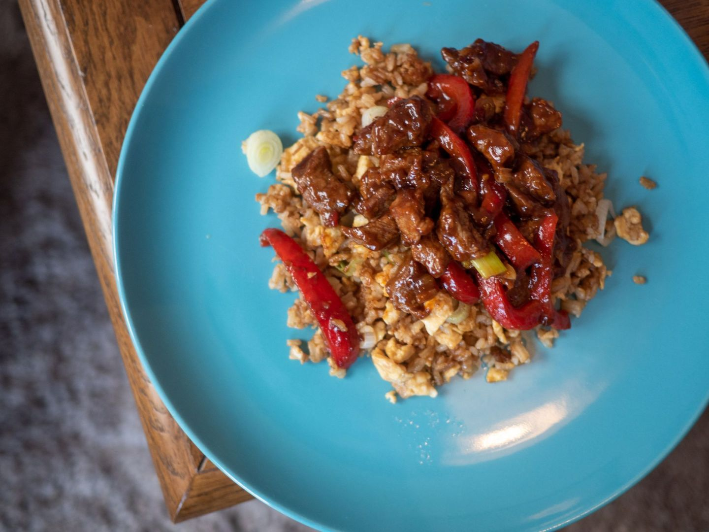 Chinese Sweet Chilli Beef Fakeaway