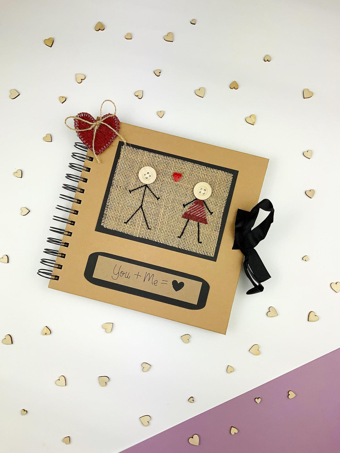 You and Me Personalised Scrapbook