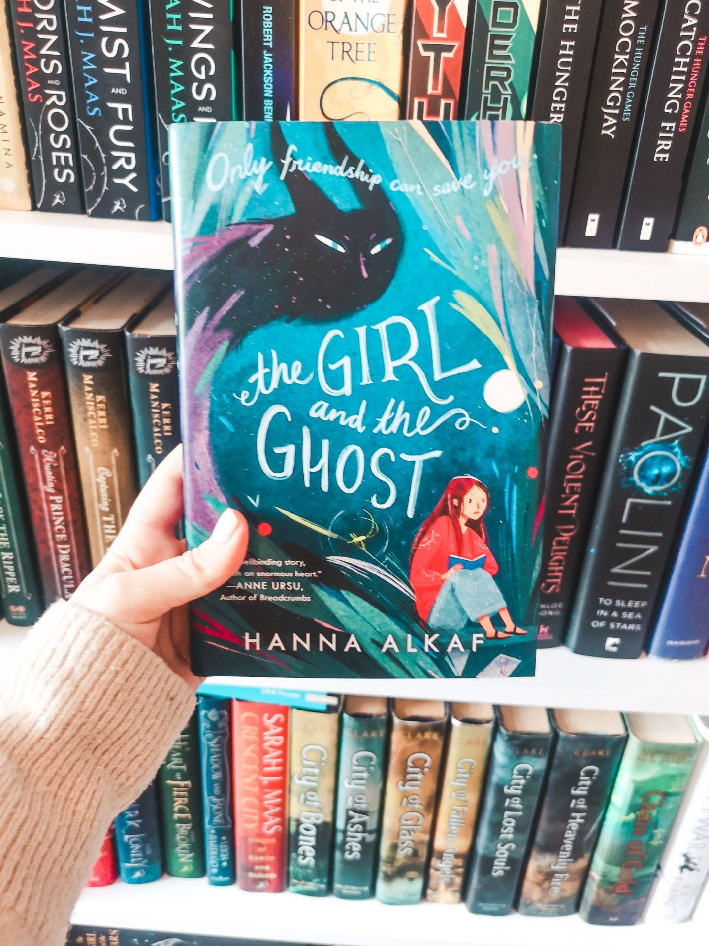 The Girl and the Ghost by Hannah Alkaf | May TBR