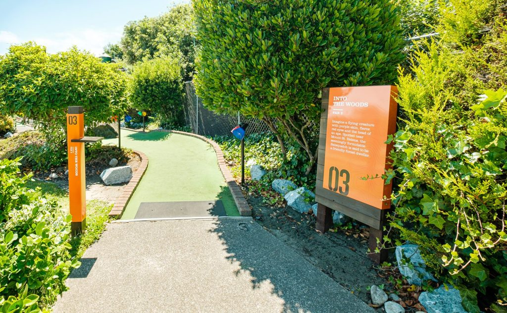 Golf Course Wayfinding and Information Panels