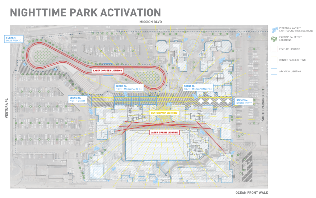 Belmont Park Master Park Lighting Plan