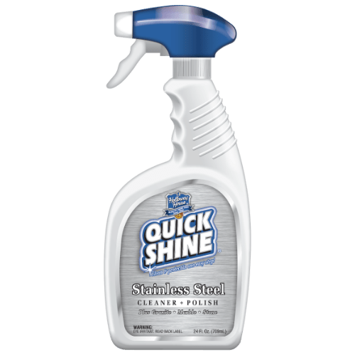 quick shine prime stainless steel cleaner polish
