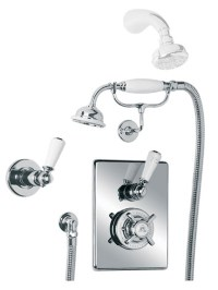 Lefroy Brooks Godolphin concealed thermostatic shower ...