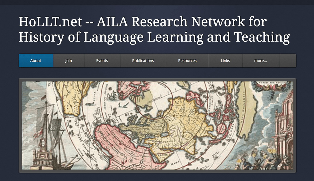 Blog Archives - HoLLT.net -- AILA Research Network for History of Language Learning and Teaching