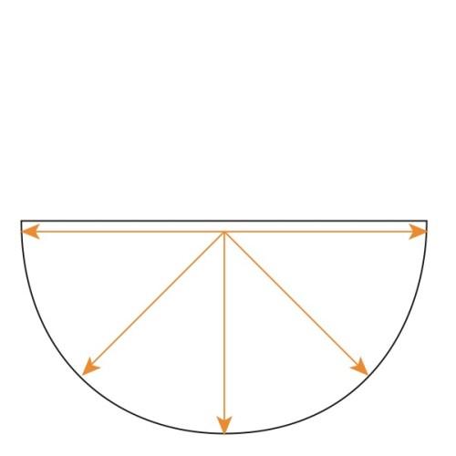 Half Circle Concentric