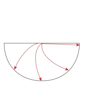 Half Circle Wedges Cent Out