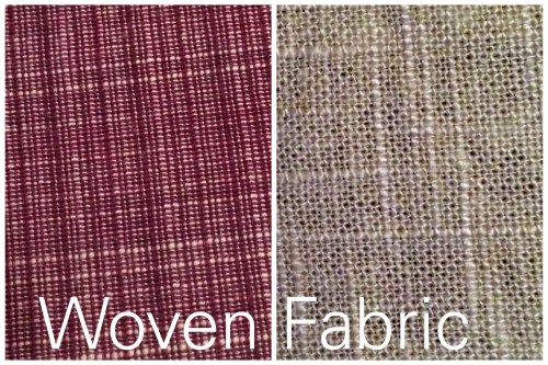 woven fabric samples