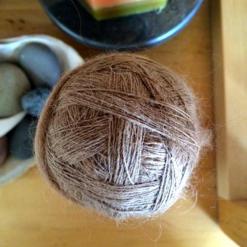 handspun yarn singles